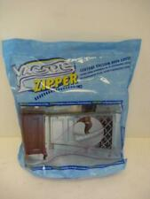 New 30 Ft Central Vacuum Hose Cover Vacsoc with Zipper Protects Walls Furniture