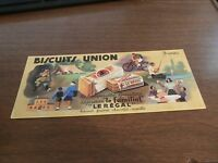 FRENCH BUVARD BISCUITS UNION PAPER BLOTTER