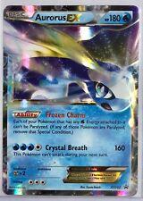 NEW Pokemon Aurorus EX XY102 Black Star Promo Card Ultra Rare Holo NM-MT