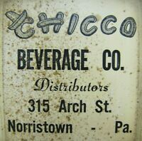 CHICCO BEVERAGE Co NORRISTOWN PA Old Advertising Thermometer Sign Sombrero BEER