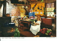 AW-173 Upper Canada Village Morrisburg Canada Group 5 Postcards Continental