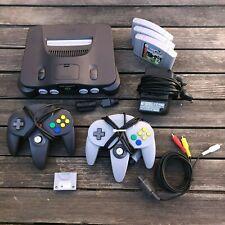 Nintendo 64 Spielekonsole - Schwarz - Topp Bundle - 3 Spiele
