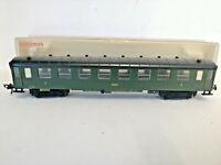 Fleischmann 5026 Green 2nd Class Compartment Coach Carriage of the DRG