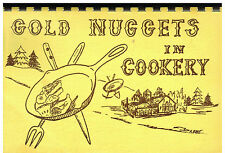 *SACRAMENTO CA 1971 GOLD NUGGETS IN COOKERY COOK BOOK *FIRST METHODIST CHURCH