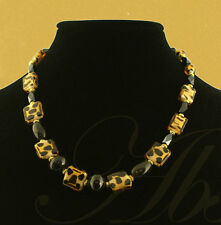 The Safari Necklace by Elsa - Handmade - One of a Kind