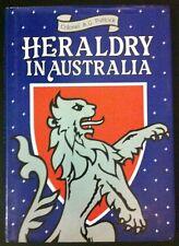 Heraldry in Australia by A.G. Puttock - HB/DJ, 1988, 1st Ed, Heraldic GC