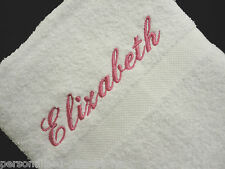 PERSONALISED HAND TOWEL, Any name or message added
