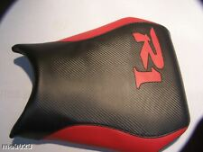 YAMAHA 2002 AND 2003  YZF R1 FRONT SEAT COVER black/red