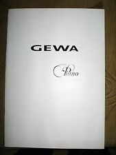 GEWA Digital Piano catalog
