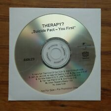 Therapy?  Suicide Pact-You First  PROMO-CDr  Motor Music / Ark 21  Germany 1999