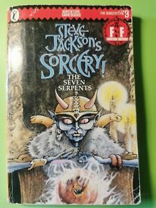 Steve Jackson Sorcery Book #023 The Seven Serpents