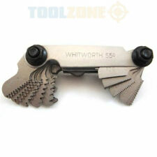 Screw Thread Pitch Gauge Combination BSW Imperial Metric Whitworth Mechanics kit