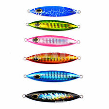 6x Micro Jig Butterfly Metal Knife Jigging Snapper Lures 150g Slow Lures Snapper