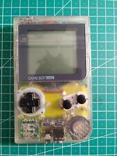 Nintendo Game Boy Pocket Handheld Spielkonsole - Transparent Clear