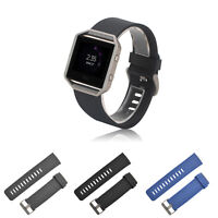 Replacement Silicone Tracker Watch Band Straps Bracelet For FitBit BLAZE Fashion