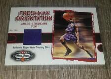 2002-03 Fleer Box Score Freshman Orientation Amare Stoudemire Shirt