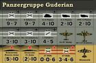 Replacement Counters for Panzergruppe Guderian '76   Die-Cut
