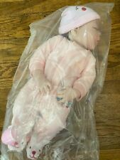 "22"" Real Looking Newborn Baby Full Silicone Realistic Reborn Doll Girl"