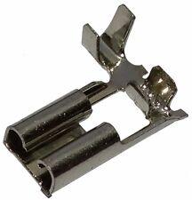 10x Cosse électrique femelle plate coudée 4.8mm 0.8mm 0.5-1mm2