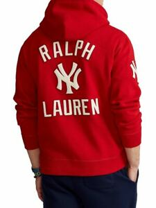 Polo Ralph Lauren New York YANKEES Limited Edition Collection Red & Black HOODIE