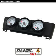 00 06 Nissan Sentra - Triple Gauge Pod 52mm (OEM) Radio Trim Bezel