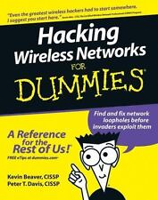 HACKING WIRELESS NETWORKS FOR DUMMIES - NEW PAPERBACK BOOK
