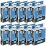 10PK 45013 Compatible DYMO D1 Cassette Label Tape 1/2 '' LabelManager 100 White