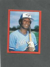 1982 O-Pee-Chee Baseball Sticker Alfredo Griffin #252 Toronto Blue Jays *MINT