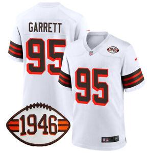 Myles Garrett #95 Cleveland Browns 1946 Patch Jersey PRE-ORDER (S-3XL)