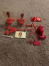 Rare Vtg 1970-80s Burger King Plastic Toys Lot Sail Cars,Race Cars, Other Parts