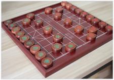 "Chinese Chess, 17.7"" MDF Board, 1.77"" Brazil Dalbergia cochinchinensis pieces"