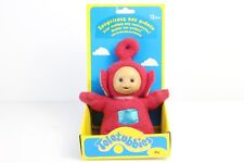 Rare Teletubbies Palm Talking LaLa Plush Stuffed Telly Tubby Playskool Hasbro 6'