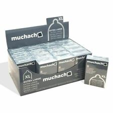 120 preservativi MUCHACHO XL profilattici EXTRA LARGE  20 scatole da 6