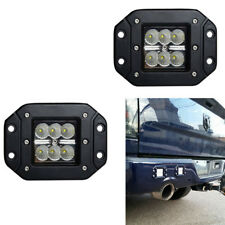 4inch Square LED Cube Pods Work Light Flush Mount Fog Light Offroad Truck Jeep