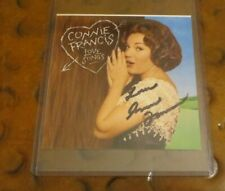 Connie Francis singer actress signed autographed photo Where the Boys Are