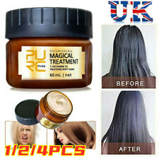PURC 60ml Magical Keratin Hair Treatment Mask 5 Seconds Repairs Damage Hair UK~