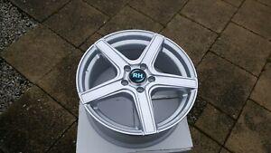 "RH Alurad  AR4 alloy wheel  7,5x17"" ET48  5x114.3 Renault Honda ,Toyota,Lexus"
