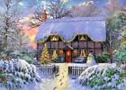FALCON DELUXE JIGSAW PUZZLE THE WRITER'S COTTAGE DOMINIC DAVISON 1000 PCS #11187