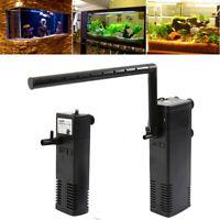 Filtre interne aquarium pompe à eau submersible intérieur filtration 300/1500L/H