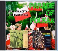 MZ 124 - Steve Adamczyk & His Hungry Six - Parade Of Polkas - POLKA CD