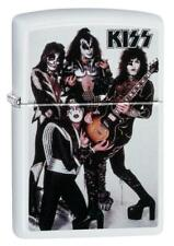 Zippo Windproof Lighter With the Group Kiss, 49017, New In Box