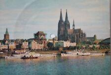 29587 Tönende Schallplatten AK Schallbildkarte Köln Rhein Dom Arrivederci Roma