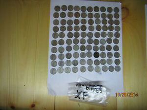 Very Nice Condition Mercury Dimes 100 Pieces Equal To Two $5.00 Rolls