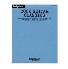 Rock Guitar Classics Hits Tab Songs Budget Book Series Guitar Tablature Songbook