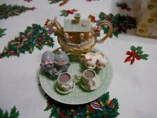 Precious Moments Noahs Ark Mini Tea Set Enesco