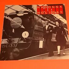 MADONNA HOLIDAY UK 12 FIRST PRESS TRAIN SLEEVE 1983 ORIGINAL