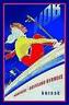 Montreux Oberland Bernois Schweiz Blechschild Schild Tin Sign 20 x 30 cm CC0798