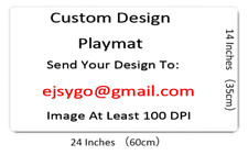 CUSTOM Print Playmat Any Image For Board Games MGT/Poke/Yugioh/Card Fight
