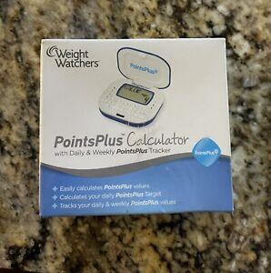 WW Weight Watchers POINTS+ Points Plus Program Calculator - New - Blue Model