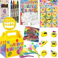 Kids Pre Filled Childrens Boys Girls Party Bags Boxes For Birthday Gifts V1